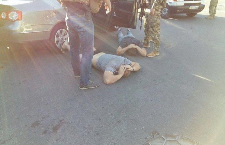 """СБУшники провели """"голівудську"""" спецоперацію у Вінниці"""