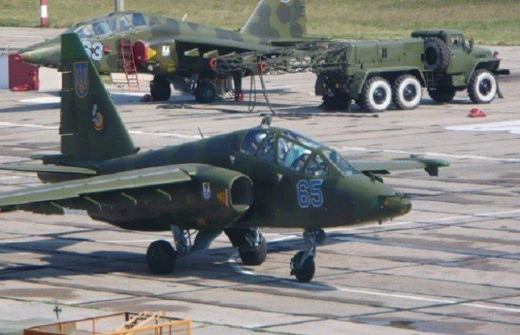 Злітна смуга військової частини  Старокостянтинова не працює