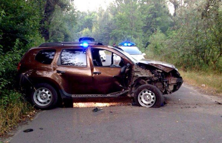 У Полтаві внаслідок ДТП постраждало двоє людей