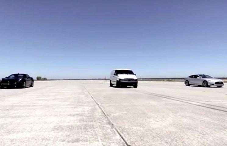 Як електричний фургон обігнав Tesla і Ferrari