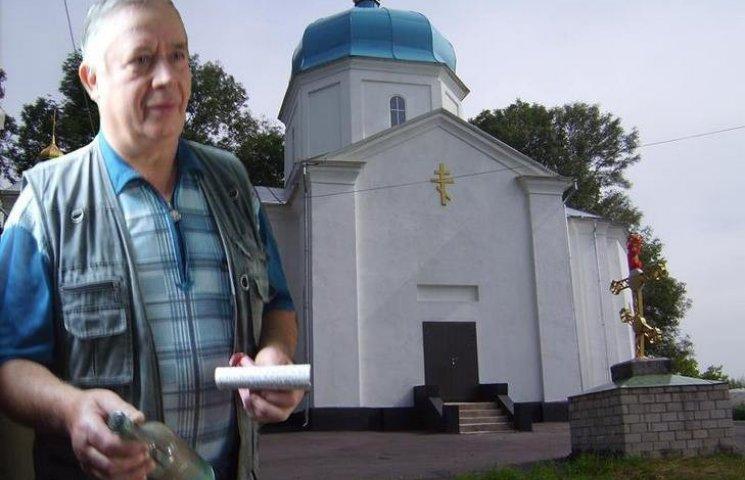 В старой церкви на Виннитчине нашли послание и склеп с останками