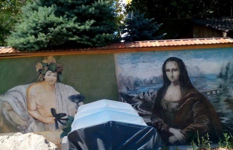 Мона Лиза и египетские мотивы на гаражах: особенности николаевского стрит-арта