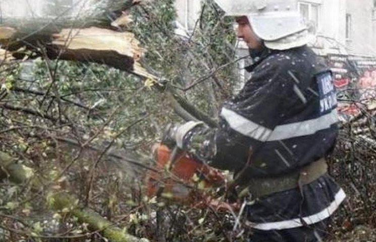 На Вінниччині негода заблокувала три автошляхи