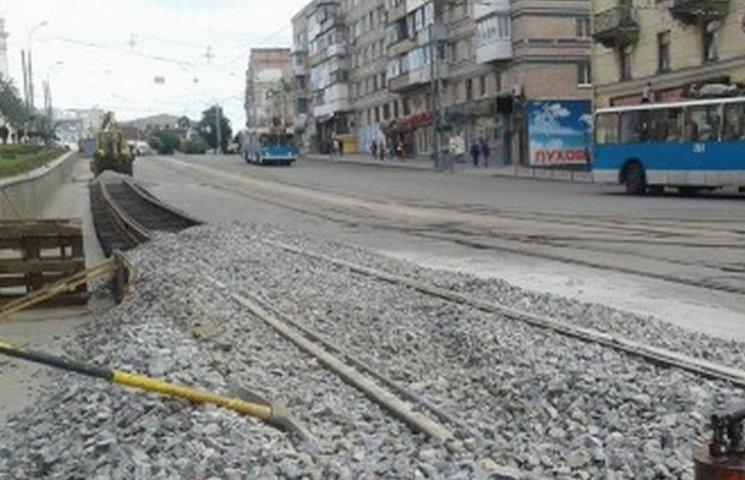 У Вінниці оновлять частину трамвайних колій