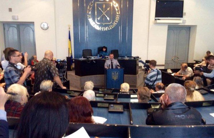 Поліція Хмельницького вперше прозвітувала перед громадськістю