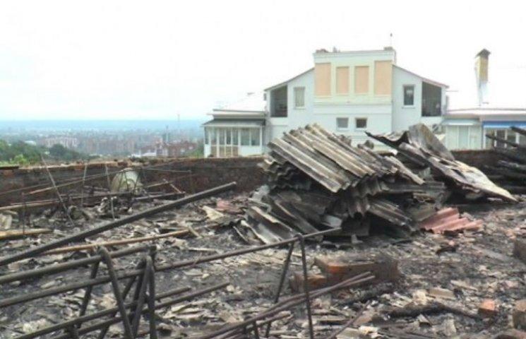 У Полтаві ремонт будинку, у який влучила блискавка, коштуватиме мільйон