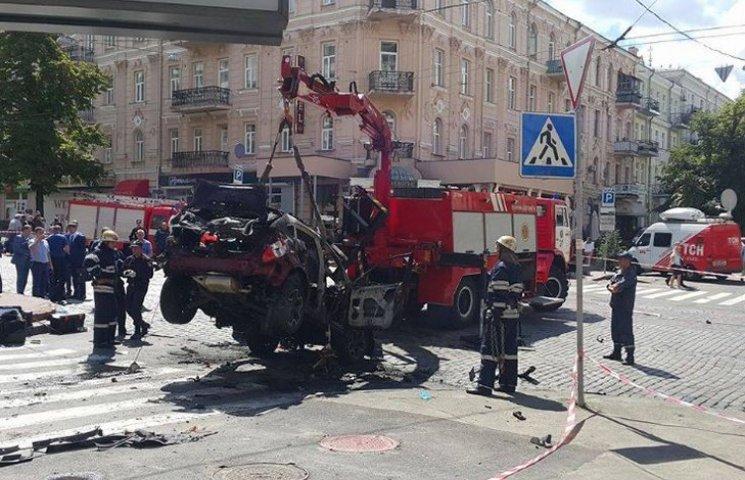 Эксперт рассказал, как заложили взрывчатку в авто Павла Шеремета