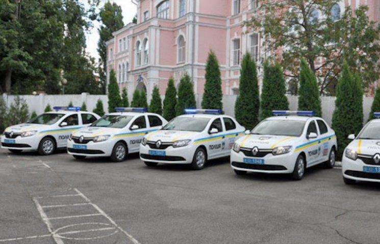 Автопарк полтавських полицейських поповнився шістьма Renault