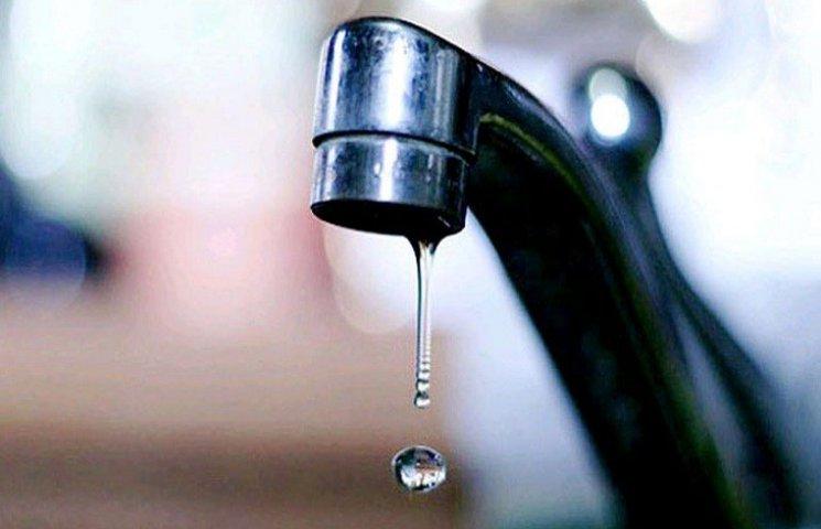 У Харкові вимкнули воду: список адрес