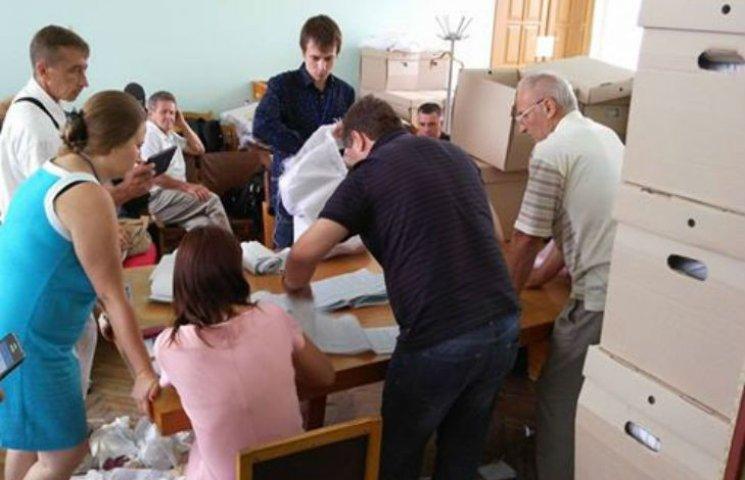 ОВК у 151 окрузі на Полтавщині відновила роботу