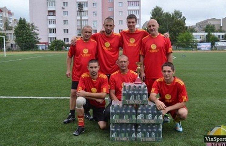 За перемогу у футбольному турнірі, вінницьким таксистам вручили п