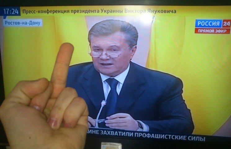 Почему Янукович так соскучился за украинским телевидением