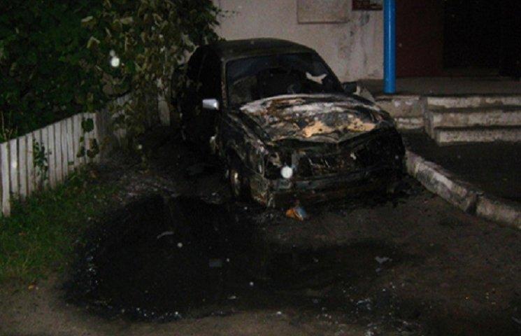 """В Ізяславі згорів """"Opel Ascona"""""""