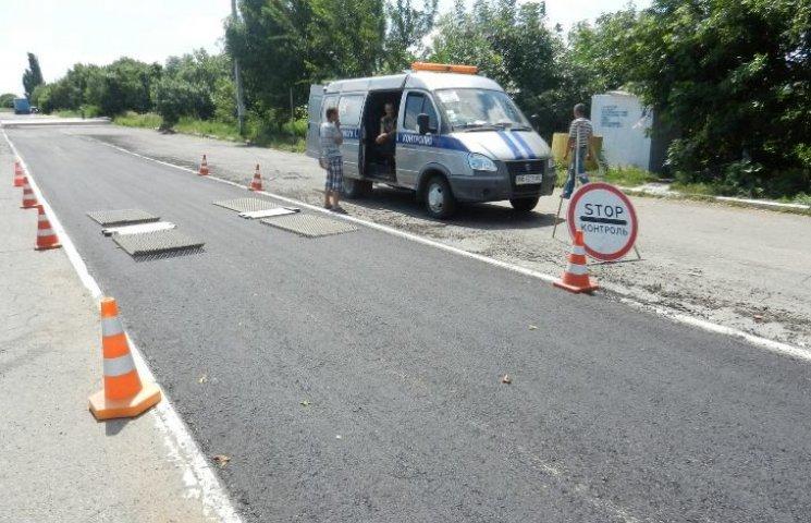 На Миколаївщині вже півмісяця ніяк не побудують майданчик під ваговий комплекс