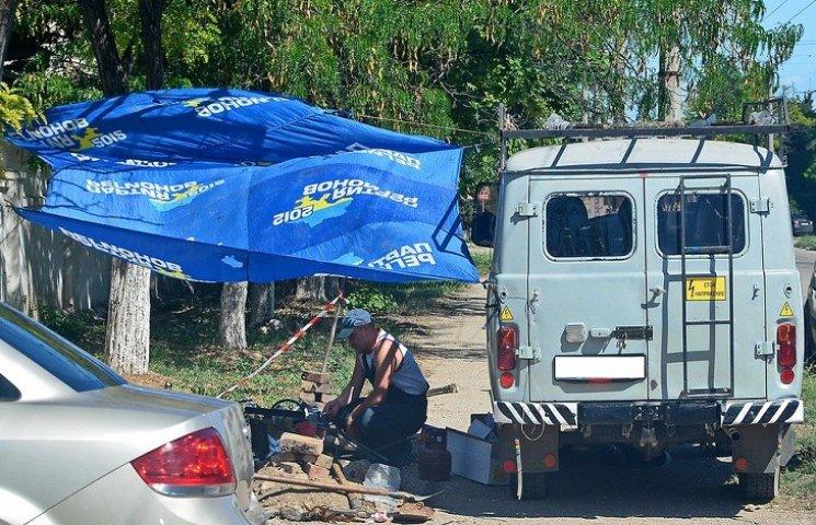 Стало відомо на що пішли прапори партії Януковича в окупованому Криму