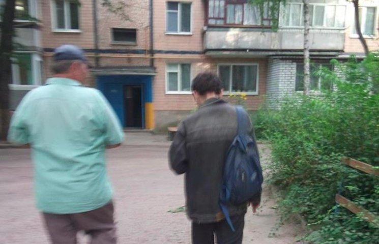 У Кропивницькому поширюють листівки з Яценюком-перейменувателем