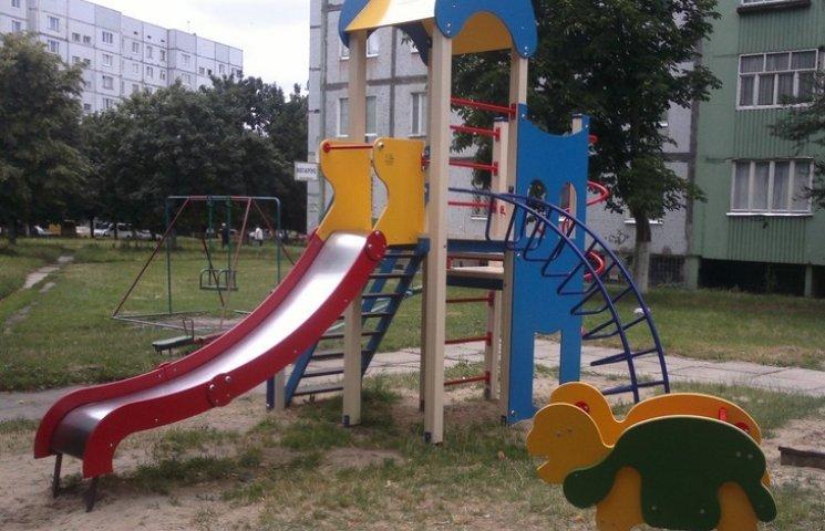 У Нетішині майже півмільйона виділили на дитячі майданчики