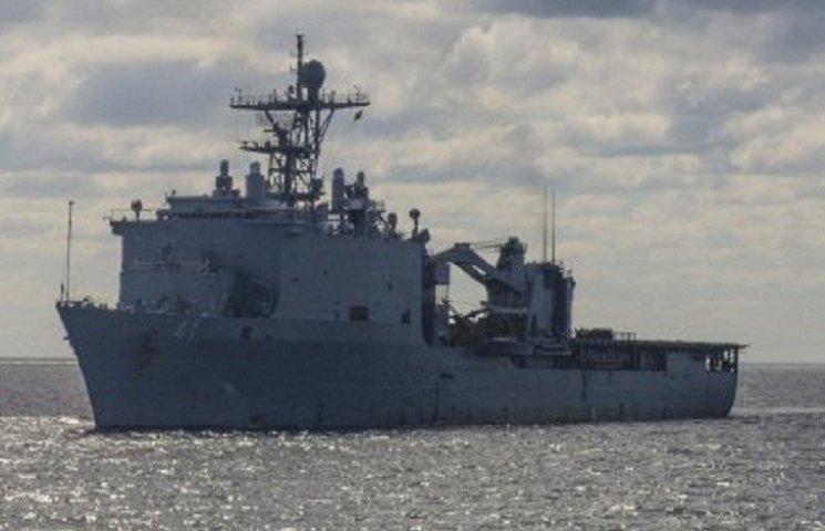 В Одесу прибув десантний корабель США
