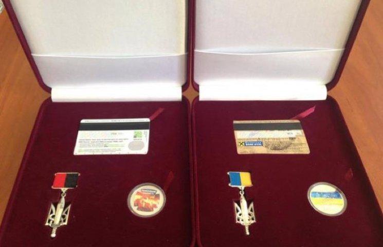 У Хмельницькому розпочалася церемонія нагородження Народних Героїв України