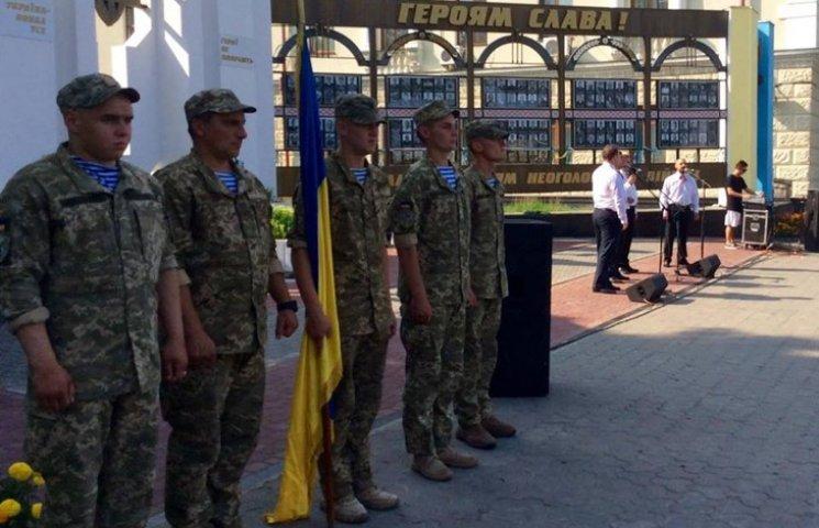 Народні Герої України вклонилися полеглим бійцям з Хмельниччини