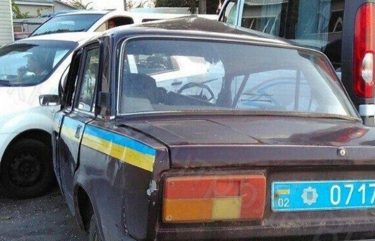 На Вінниччині поліцейська машина спричинила потрійне ДТП
