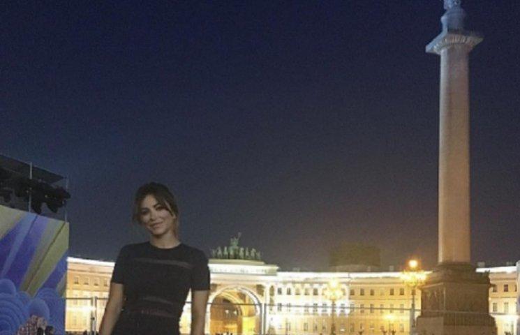 Лорак виступила на святкуванні 320-річчя Військово-морського флоту Росії