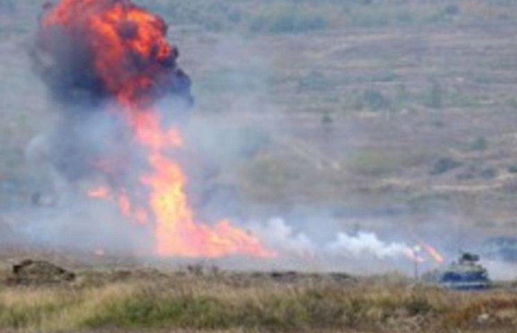 На Ширлані стріляли 40-річними мінами з старезними детонаторами