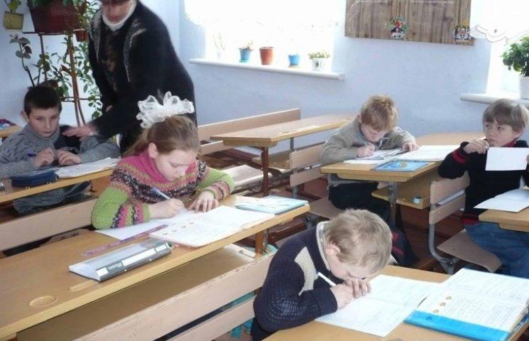 Майже 40% шкіл на Хмельниччині є малокомплектними