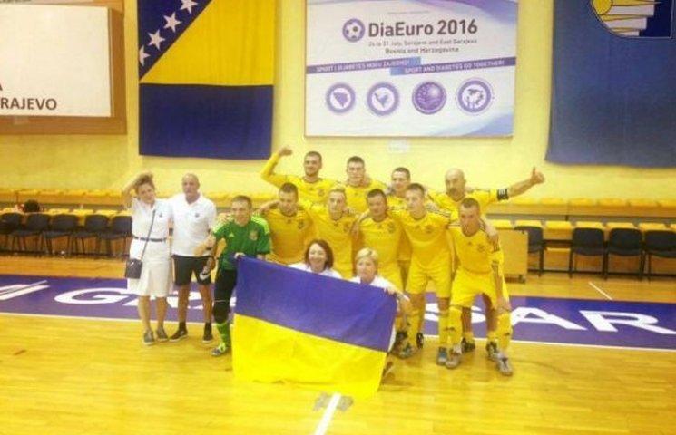 Збірна України з діа-футболу поборола бельгійців та італійців