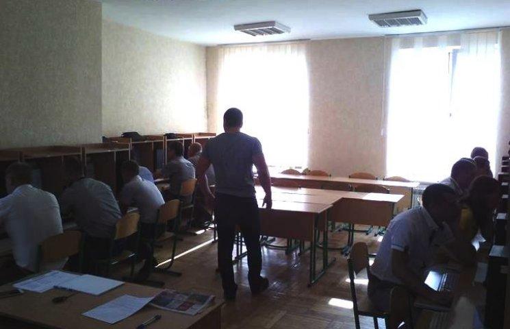 У Вінниці розпочалось атестаційне тестування поліцейських