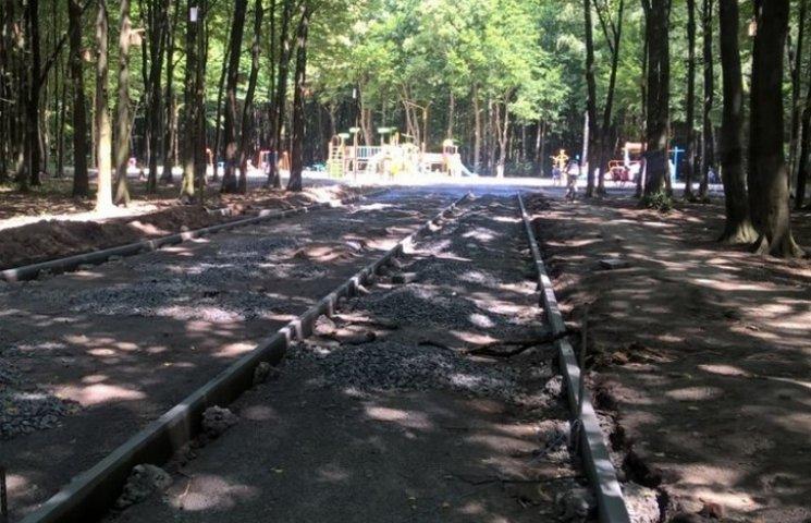 Вінницький Лісопарк пристосують для піших та велопрогулянок