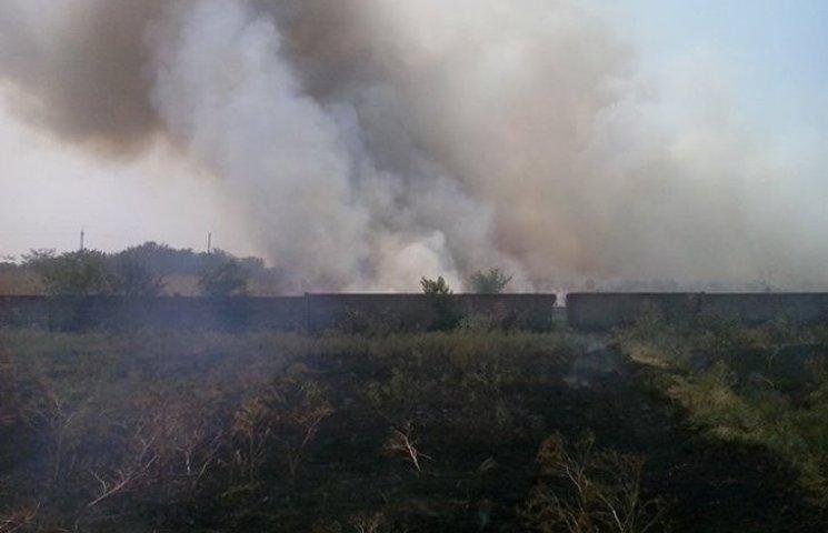 На Миколаївщині вигоріло 33 га сухої трави