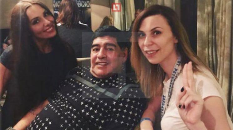 Журналистка жаловалась надомогательства состороны Марадоны вПетербурге