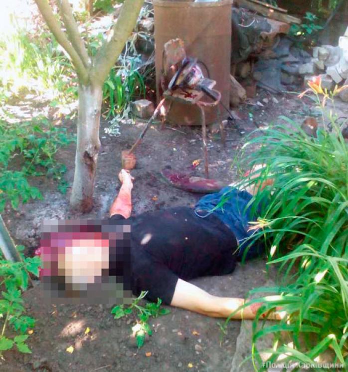 ВХарькове мужчина покончил ссобой при помощи болгарки