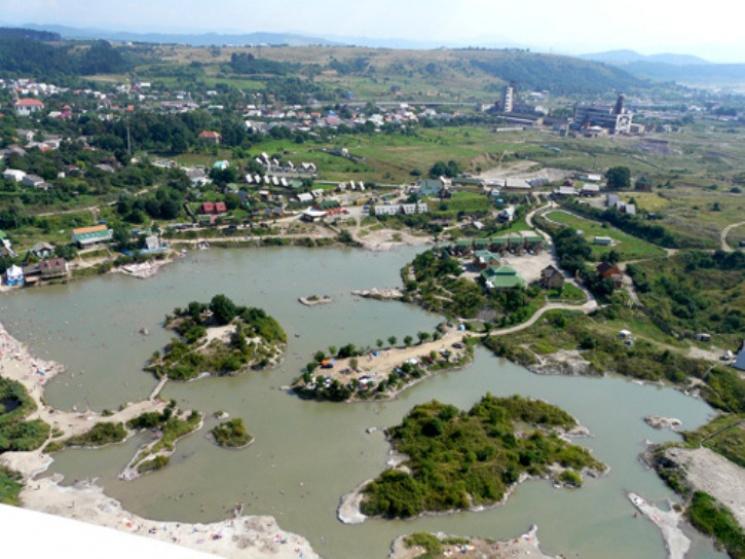 Солоні озера Солотвина