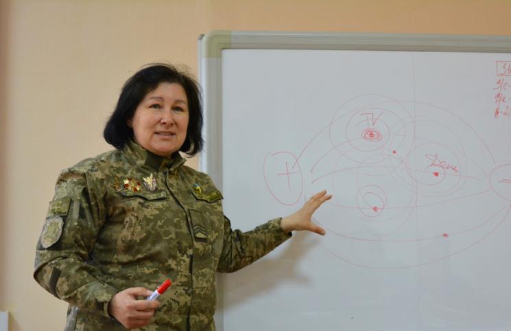 Прес-офіцер Мокренчук: Про інформацію і правду з АТО, доньку солдата і місію прес-офіцера