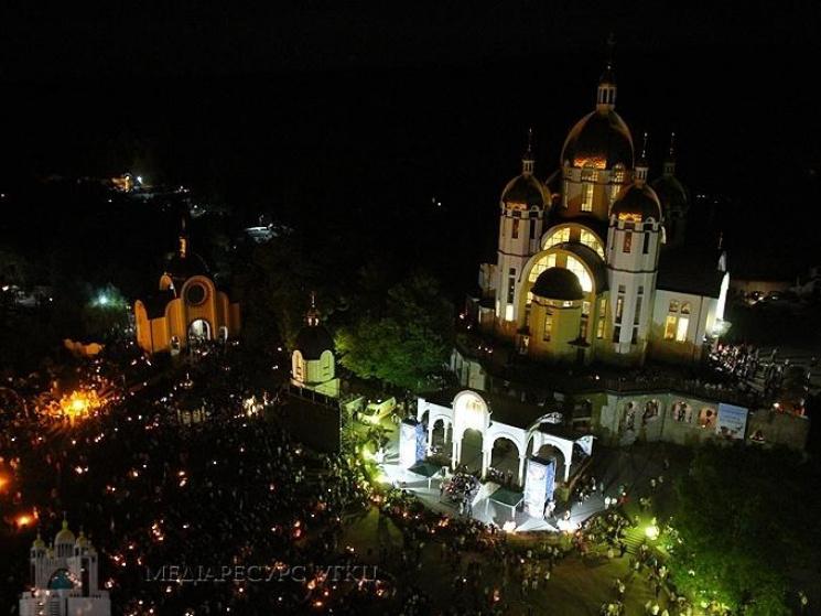 У загальноукраїнській прощі на Тернопільщині взяли участь понад сто тисяч вірян