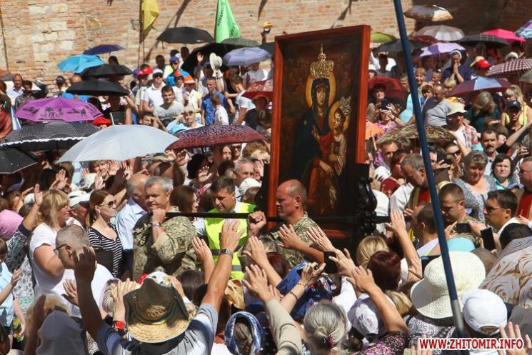 Як католики з трьох країн на житомирській землі молилися за мир в Україні