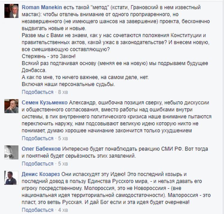У «ДНР» заявили про створення «Малоросії»