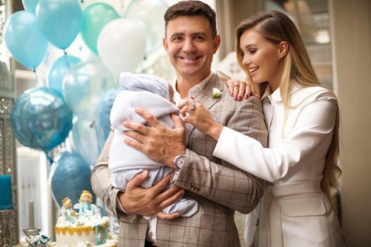 Тищенко впервые показал лицо сына…