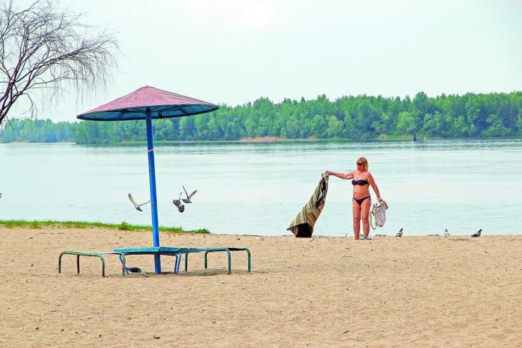 Купатися заборонено: уКиєві всі пляжі визнали непридатними для купання