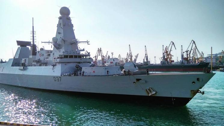 ВОдессу свизитом прибыли два корабля НАТО