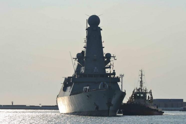 Військові кораблі НАТО увійшли впорт Одеси