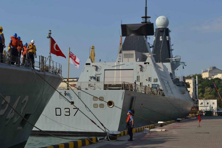Кораблі Постійної військово-морської групи НАТО прибули вОдесу