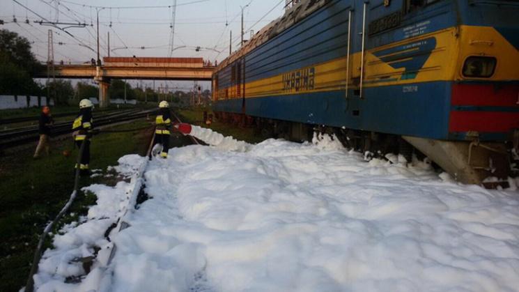 УДніпрі зцистерни потяга витекло 30 тонн бензину