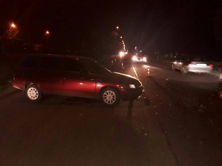 ВЗапорожье вДТП попал раритетный автомобиль