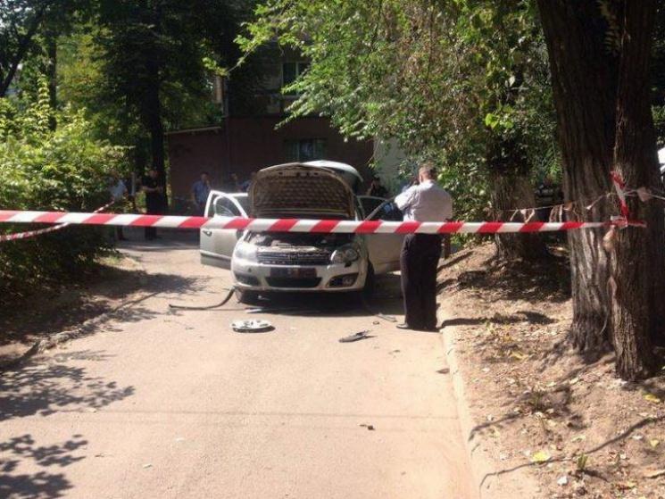 Нацполиция: Утром вДнепре взорвался автомобиль, пострадала 27-летняя женщина-водитель