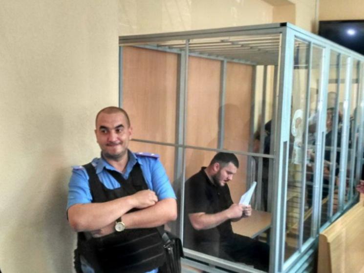 Суд арестовал одного изподозреваемых— стрельба вДнепре