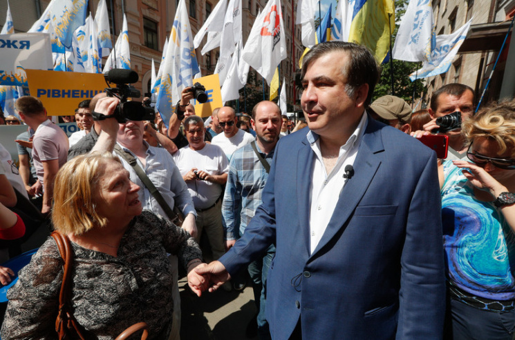 Михаил Саакашвили объявил, что считает себя украинцем