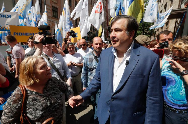 Саакашвили поведал о нечистых играх украинских олигархов против президента США